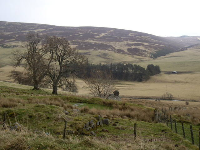 View to Hillock farm