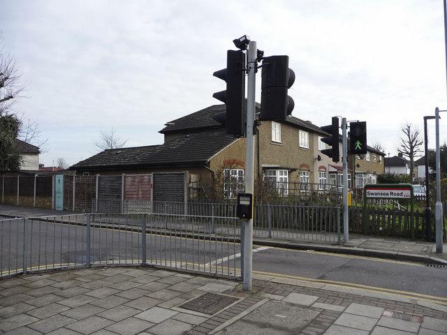 Pedestrian  Crossing, Swansea Road, Ponders End