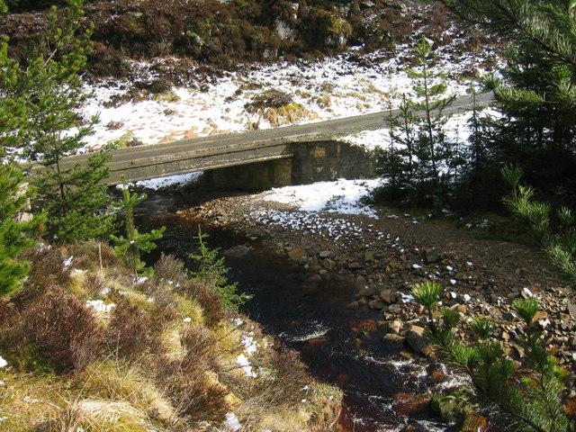Bridge over the Yett Burn
