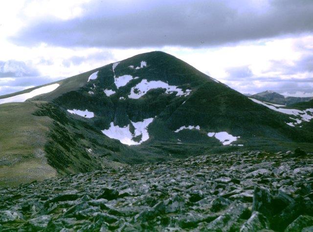 SSW ridge of Beinn Liath Mhor Fannaich