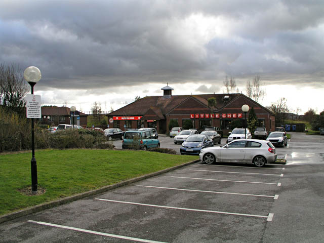 Little Chef at Hickstead services