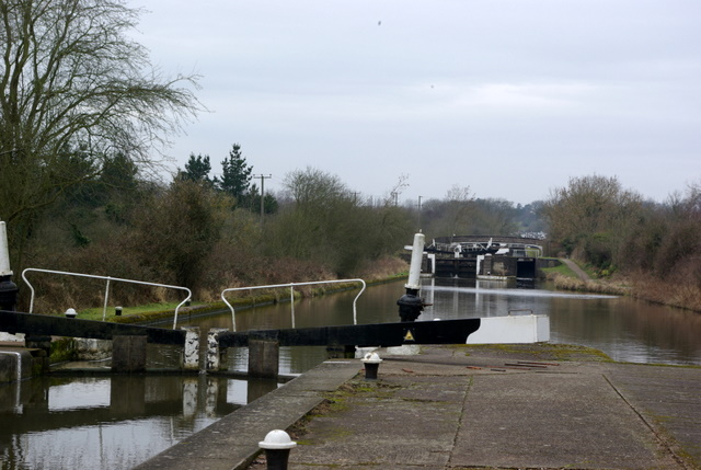 View up Hatton Locks