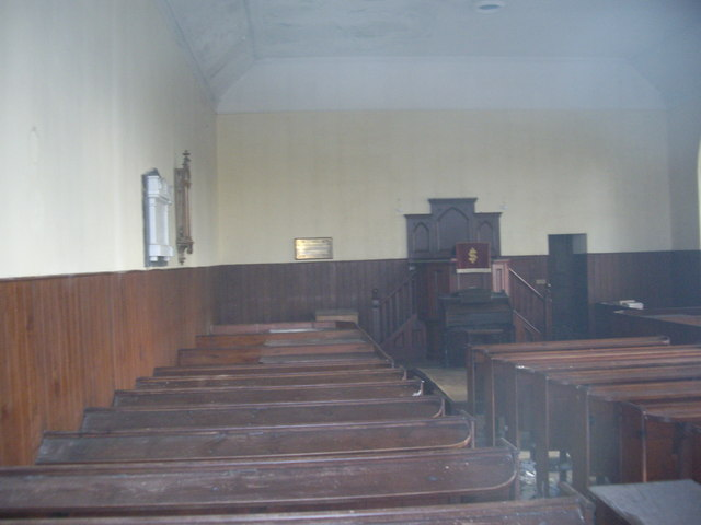 Lower Cabrach church interior (North)
