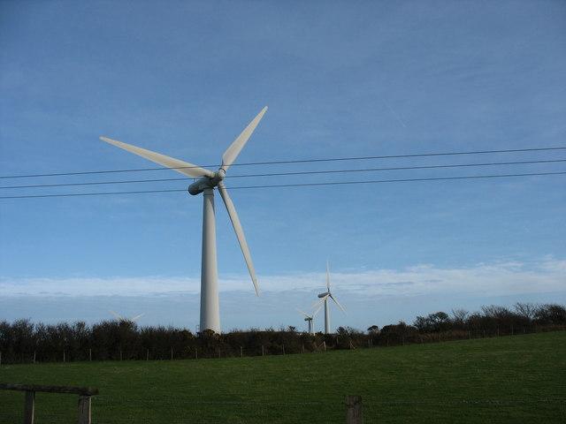 The Trysglwyn Wind Farm