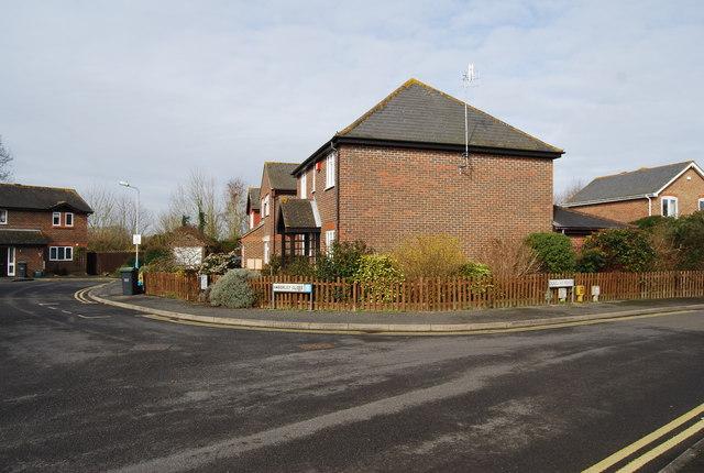Douglas Rd, Amberley Close junction