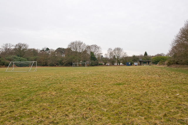 The Clump Inn Football Playing Field