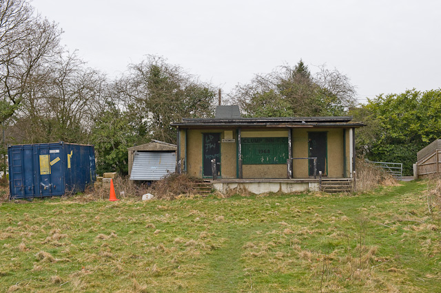 Pavilion of Clump Inn Football Club, Chilworth