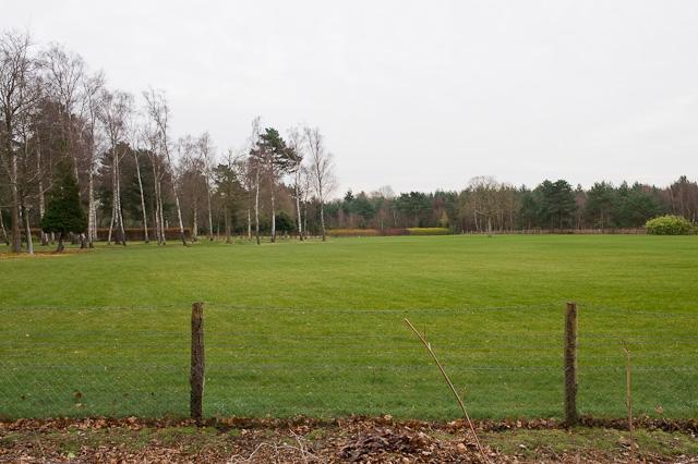 Garden adjacent to Clump Inn Football Ground, Chilworth