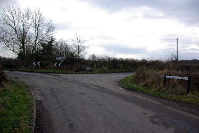 Junction on Ugly Bridge Road