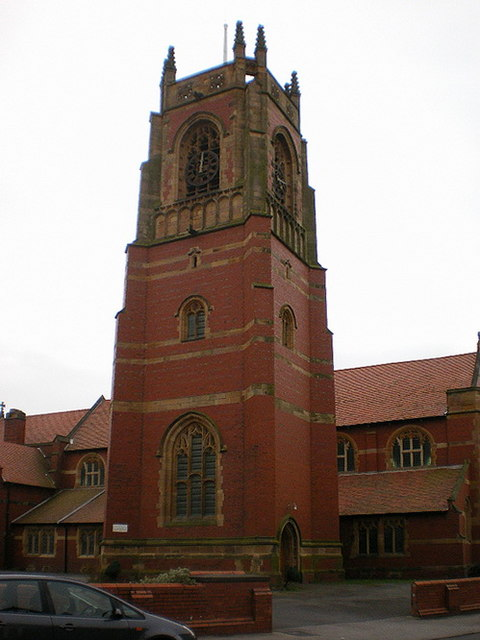 St Thomas' Parish Church, St Annes on the Sea, Tower