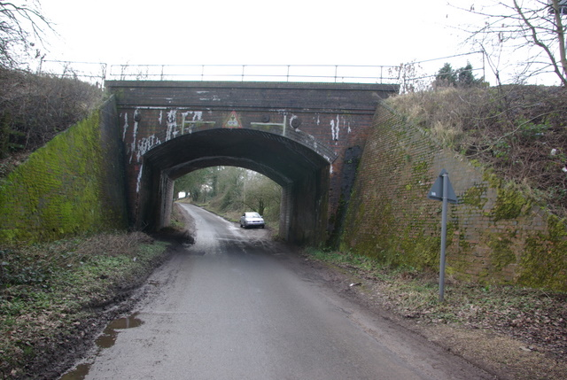 Railway bridge on Ugly Bridge Road