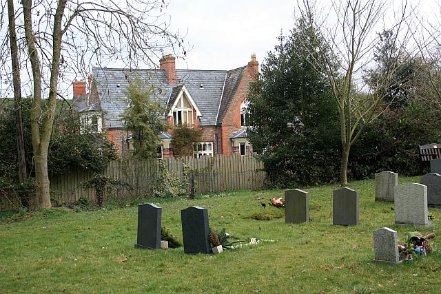 Graves in Ullingswick churchyard