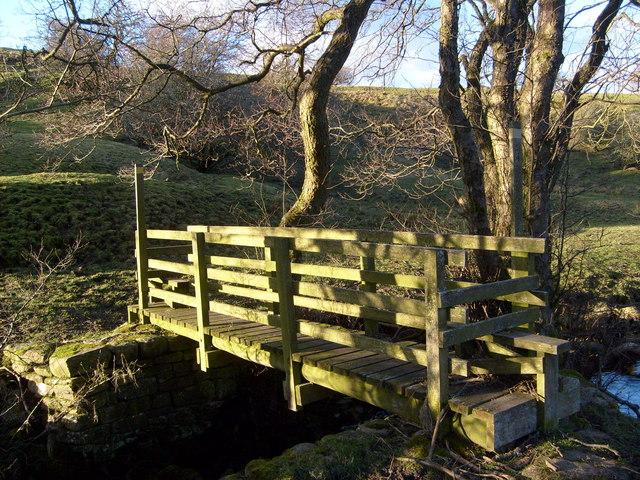 Acton Burn footbridge