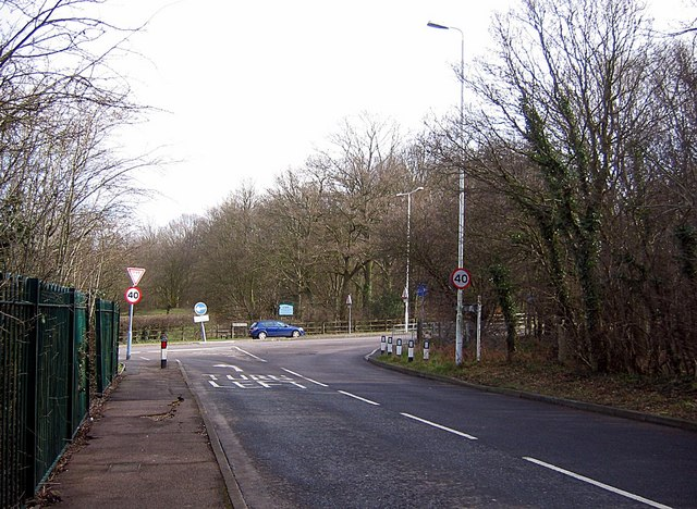 Junction Forest Road and Romford Road