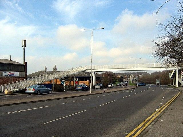 Footbridge over Romford Road