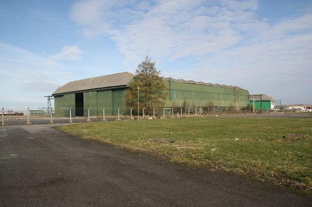 Binbrook hangar