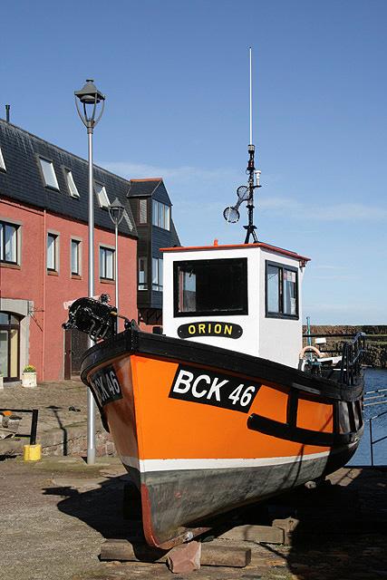 A boat at Dunbar