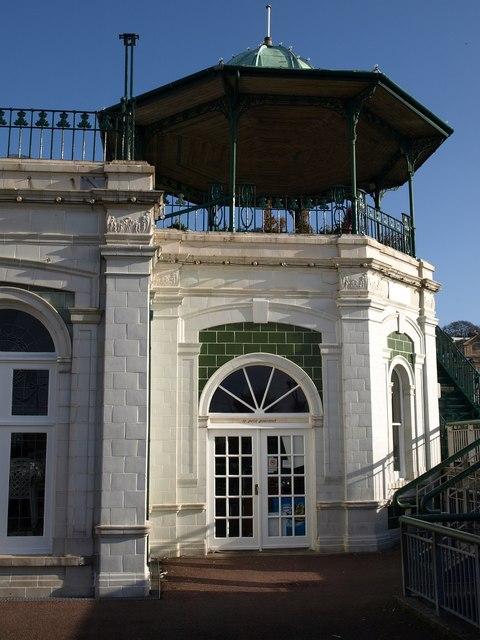 Corner turret, Torquay Pavilion