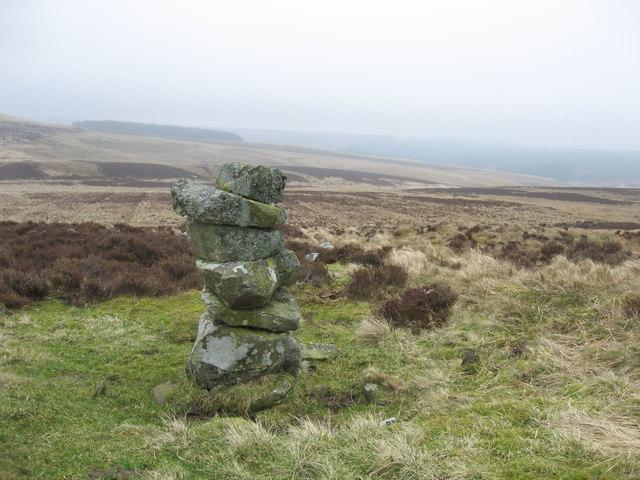 Cairn on Burngrange Moor