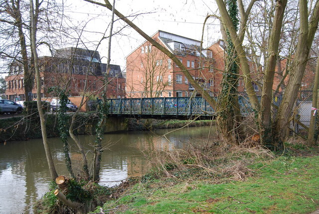 Footbridge over the River Medway, Tonbridge
