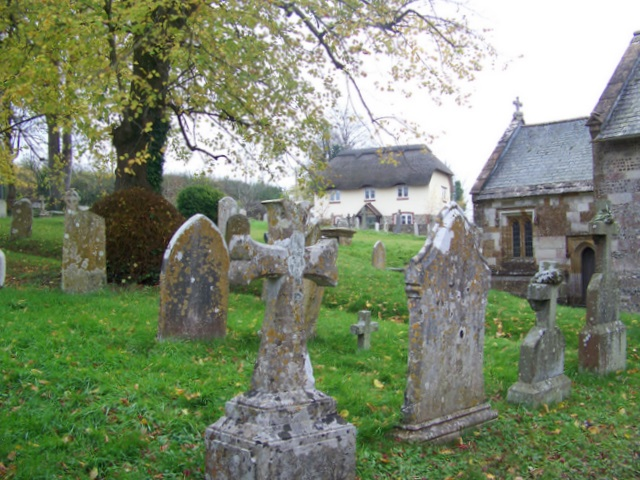 Churchyard, The Church of St Mary the Virgin, Piddlehinton