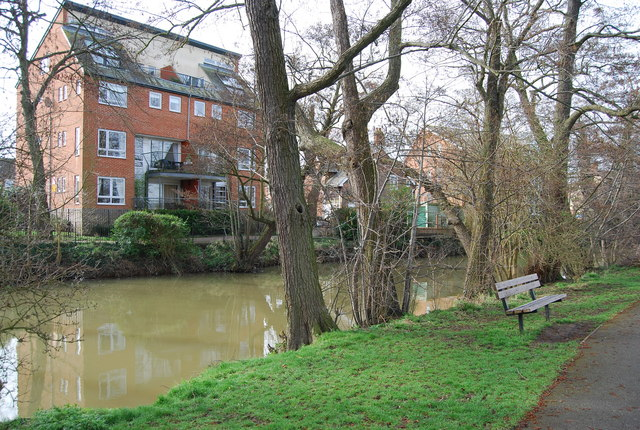 Bench by the River Medway