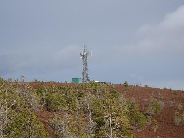 Scar Hill FM radio mast