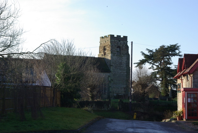 The Church of St. Michael at Ufton