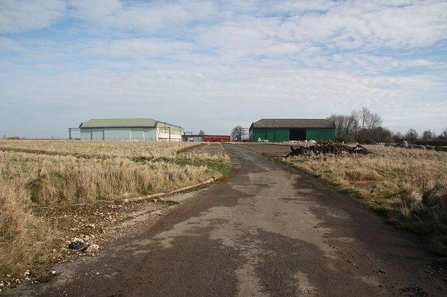 Binbrook hangars