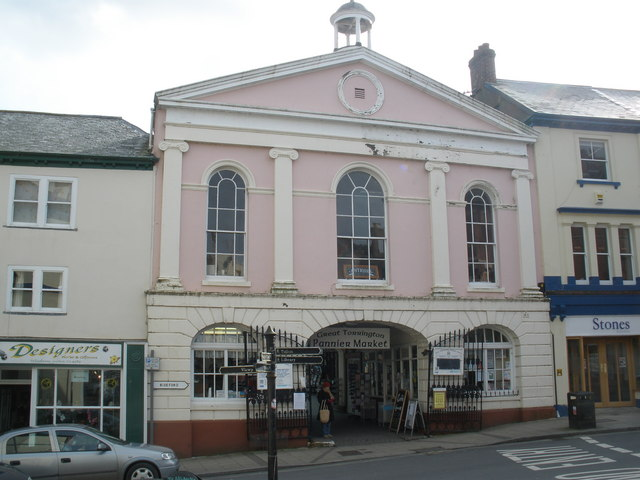 The Pannier Market, Great Torrington