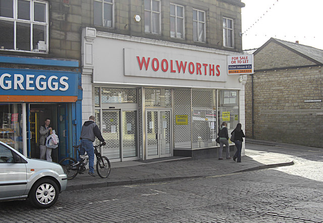 For sale or rent - the old Woolworths