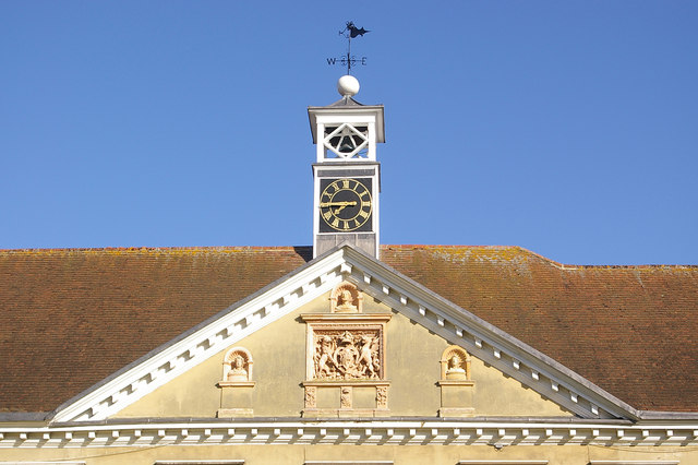Pediment, Reigate Priory