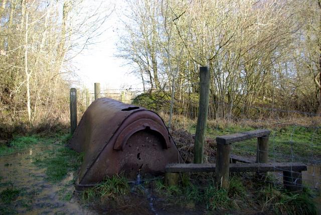 Abandoned quarry wagon