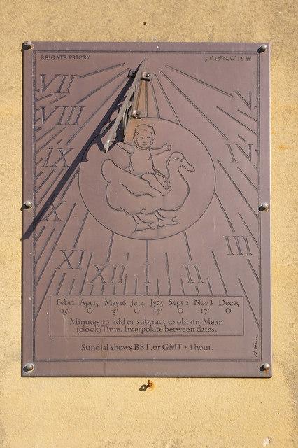 Sundial, Reigate Priory
