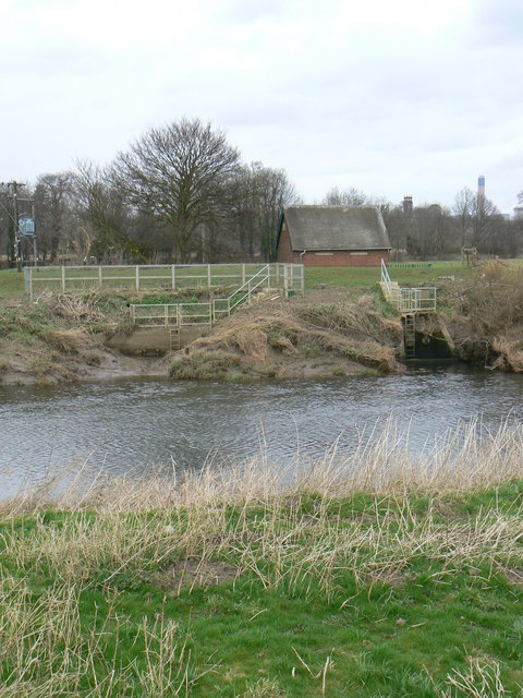 Pumping Station and Sluice