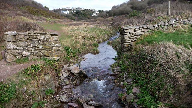 Stream from Wembury to the beach.