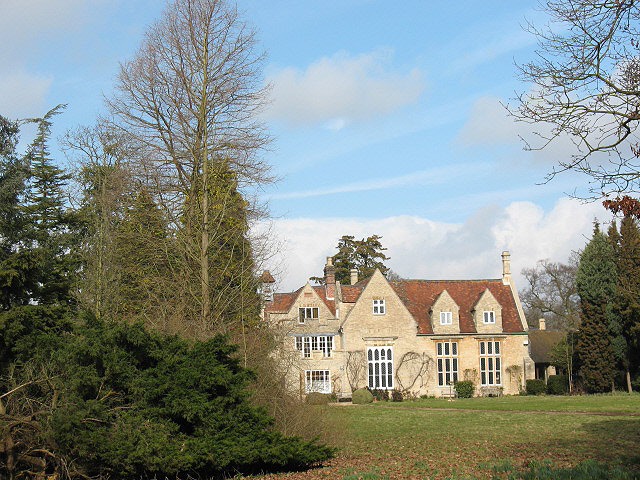 Turvey Abbey: rear of main building