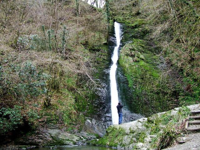 White Lady Falls: Lydford Gorge