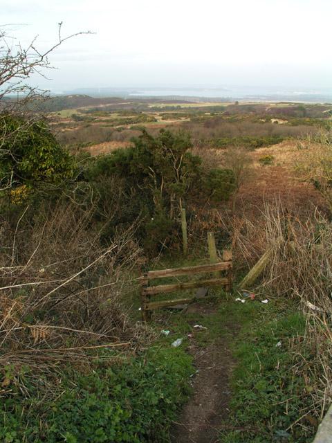 Footpath to Newton Heath