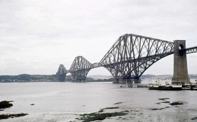 The Forth Bridge in 1960