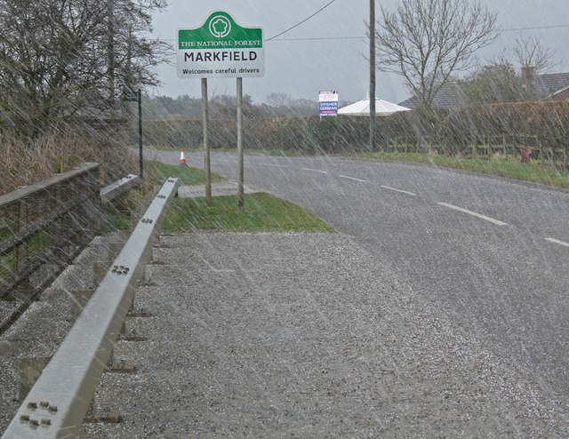 Thornton Lane towards Markfield