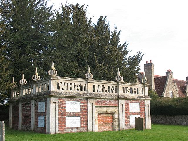 All Saints, Turvey: Higgins mausoleum