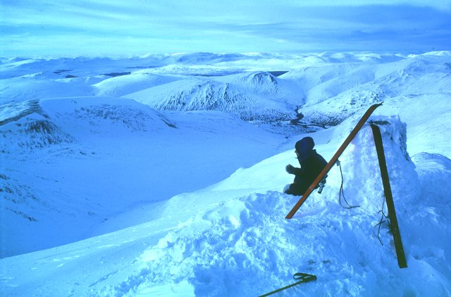 Ben Lawers by ski