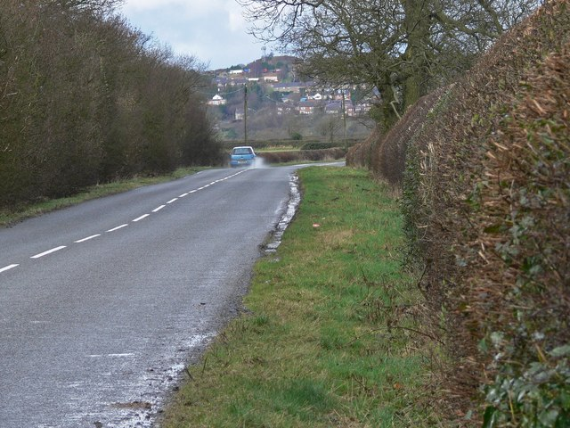 Thornton Lane towards Markfield