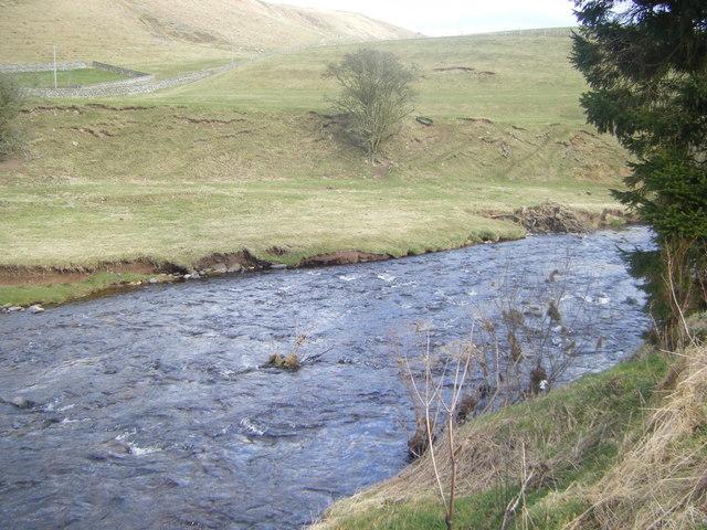 River Coquet at Linshiels