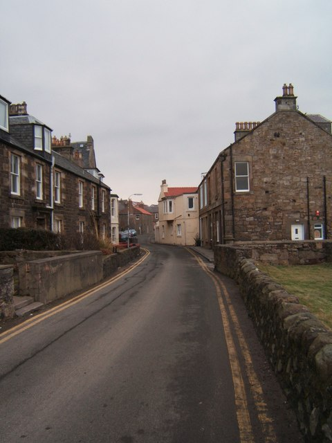 Looking east, Lower Largo