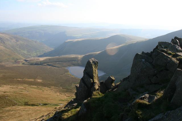 Cadair Berwyn New Top rocks