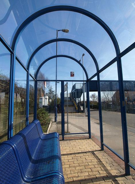 North Ferriby Station Platform Shelter