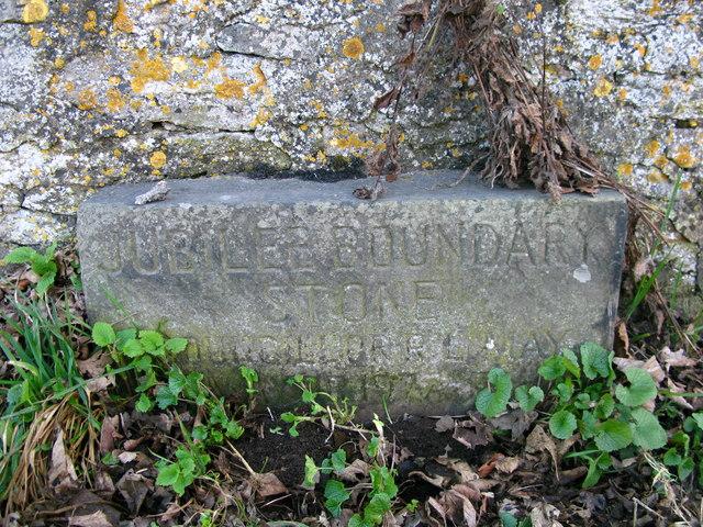 Jubilee Boundary Stone 1977