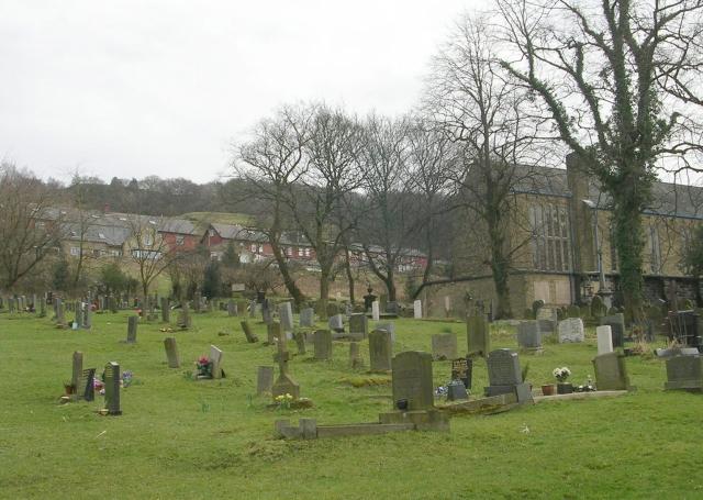 St Peter's Graveyard - Church Walk